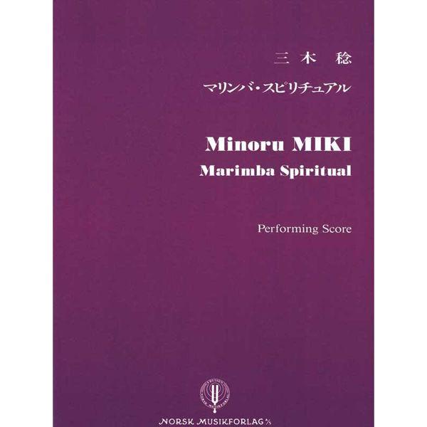 Marimba Spiritual, Minoru Miki