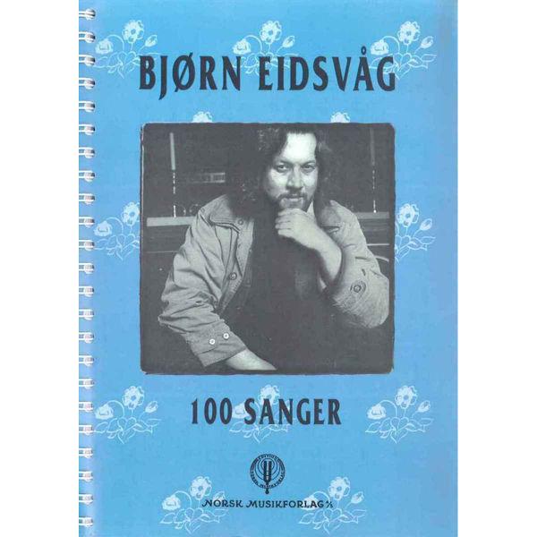 100 Sanger, Bjørn Eidsvåg - Melodilinje, tekst, besifring