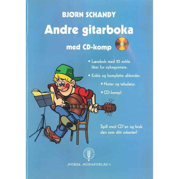 Andre Gitarboka, Bjørn Schandy - Bok/Cd