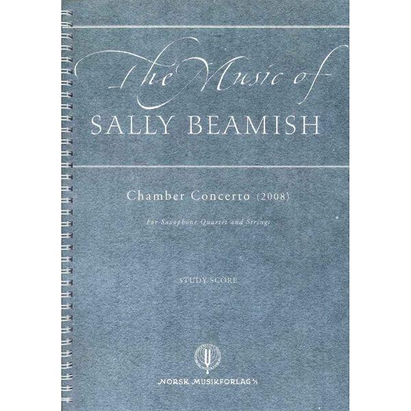 Chamber Concerto(2008), Sally Beamish - Saxquart.& Strings Lommepartitur