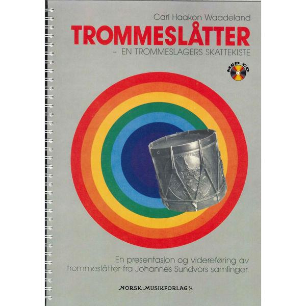 Trommeslåtter, Carl Haakon Waadeland. Bok m/CD