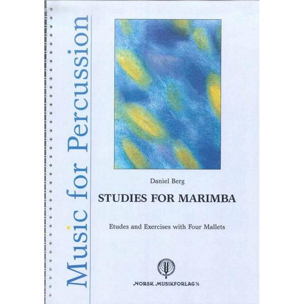 Studies for Marimba, Daniel Berg