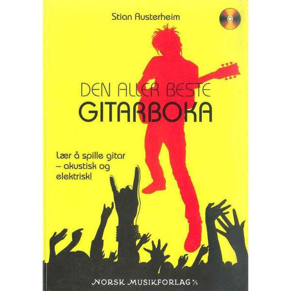 Den Aller Beste Gitarbk.M./Cd, Stian Austerheim - Gitarlærebok Skole