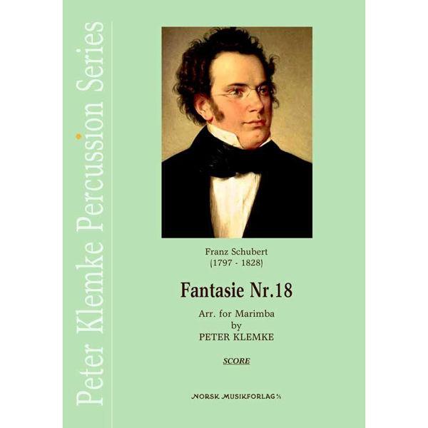 Fantasie Nr. 18, Schubert/Arr. Peter Klemke, Marimba Quartet
