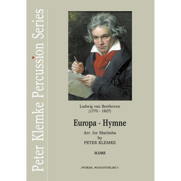 Europa-Hymne, Ludwig van Beethoven arr Peter Klemke. Marimba Duo