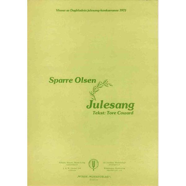 Julesang, Sparre Olsen - Sang, Piano