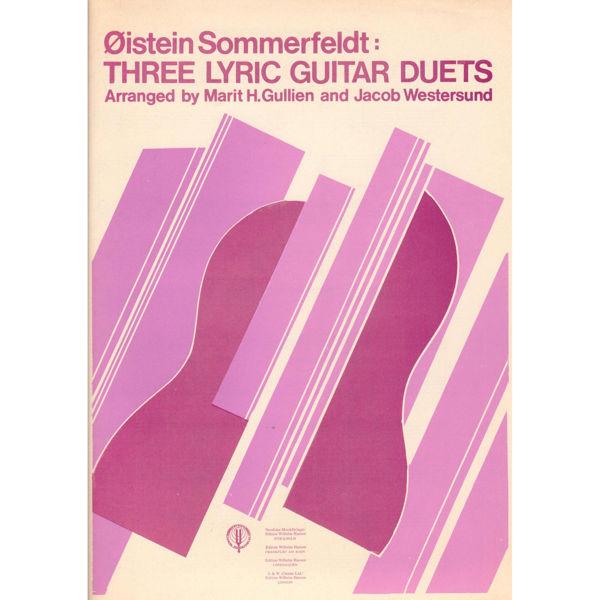 Three Lyric Guitar Duets, Øistein Sommerfeldt - Gitarduetter