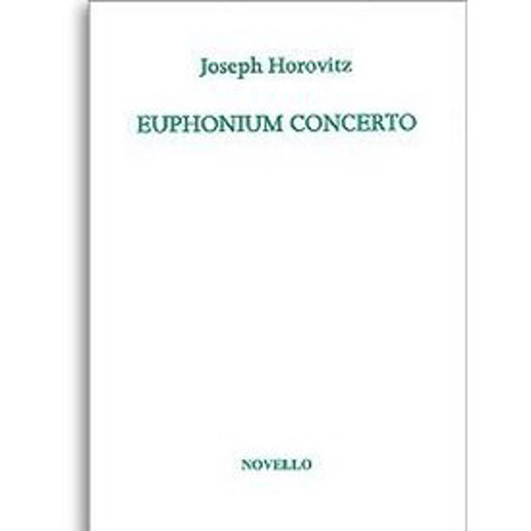 Euphonium Concerto (Euphonium/Piano) Joseph Horovitz