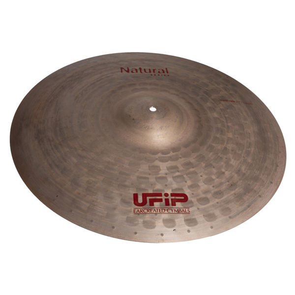 Cymbal Ufip Natural Series NS-22RV, Ride, Sizzle 22