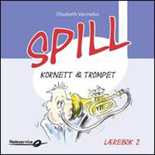 Spill Trompet 2 KUN CD til lærebok av Elisabeth Vannebo