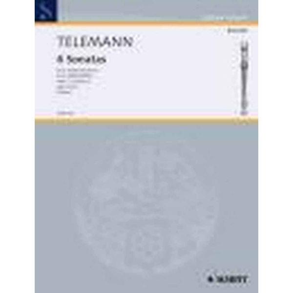 6 Sonaten, Op.2 Volum 3/5-6, Telemann - Altblokkfløyte duett, Telemann