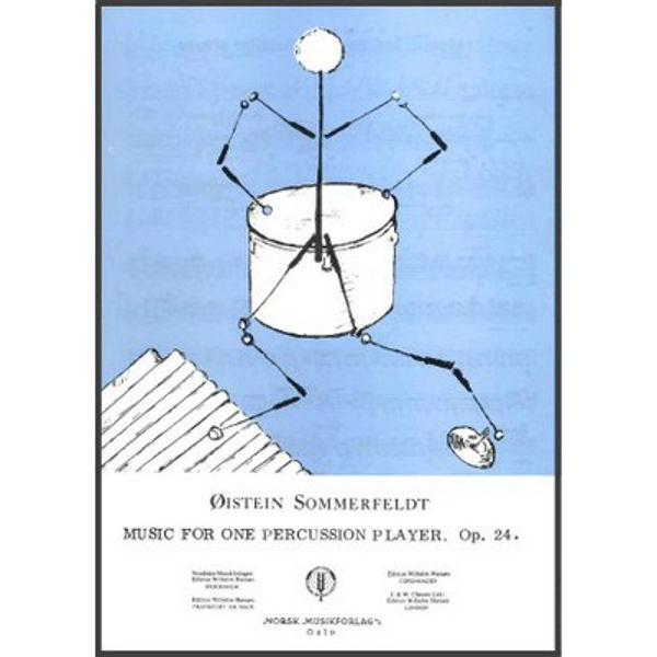 Music For One Percussion Player, Øystein Sommerfeldt