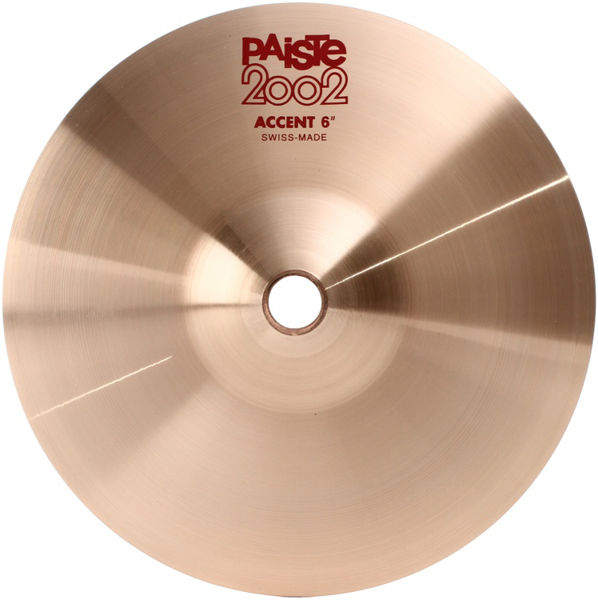 Cymbal Paiste 2002 Accent 6, Stk