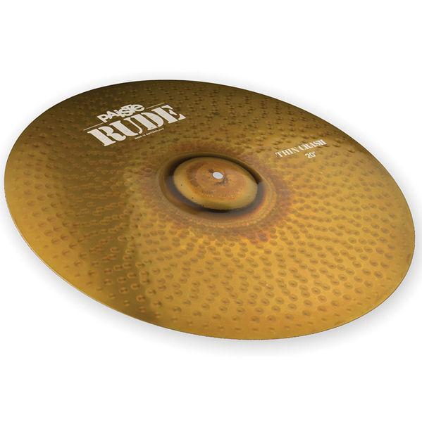 Cymbal Paiste Rude Crash, Thin 19