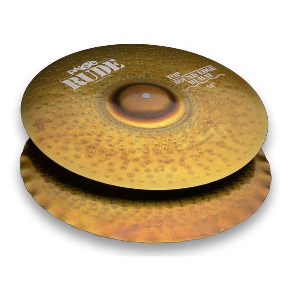 Hi-Hat Paiste Rude, Sound Edge 14, Pair