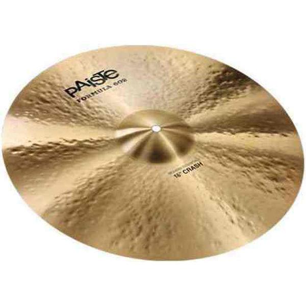 Cymbal Paiste Formula 602 Modern Essentials Crash, Crash 16, Vinnie Colaiuta