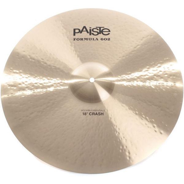 Cymbal Paiste Formula 602 Modern Essentials Crash, Crash 18, Vinnie Colaiuta