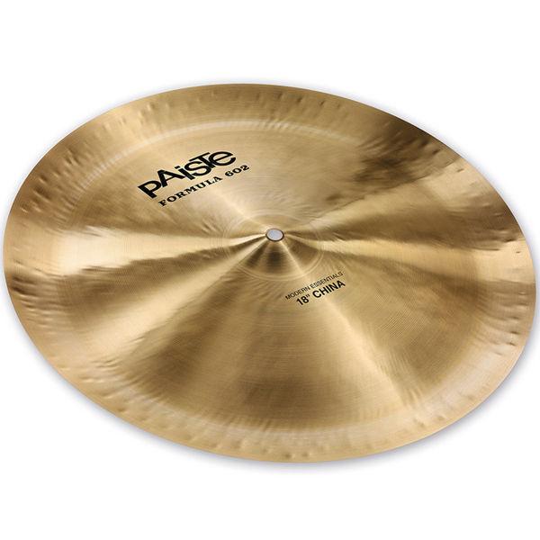 Cymbal Paiste Formula 602 Modern Essentials China, 18, Vinnie Colaiuta