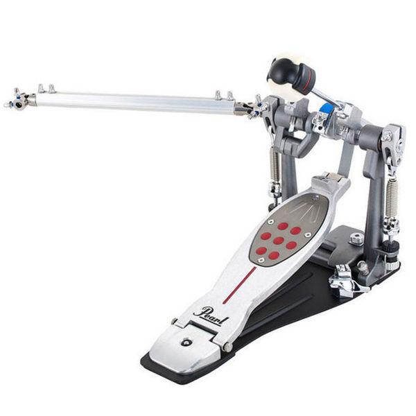 Stortrommepedal Pearl P-2051B, Eliminator Belt Drive w/Chain Drive Add-On w/Case