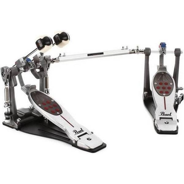 Stortrommepedal Pearl P-2052BL, Eliminator Belt Drive, Twin Pedal, Complete, Left