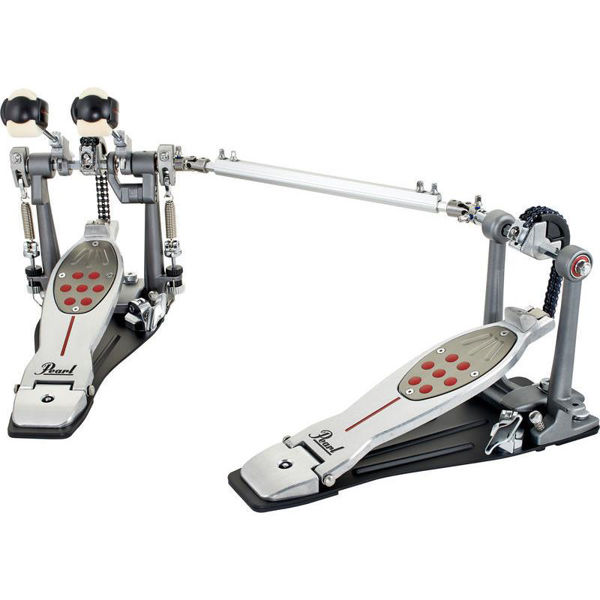 Stortrommepedal Pearl P-2052CL, Eliminator Chain Drive, Twin Pedal, Complete, Left