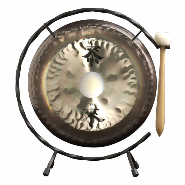 Gong Paiste DG05310, Deco Gong Set 10 m/Stativ og Klubbe