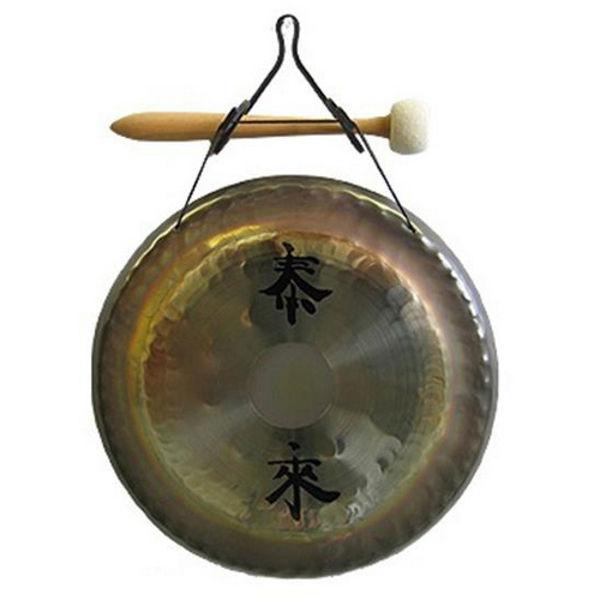 Gong Paiste DG05410, Deco Gong Set 10 m/Veggsfeste og Klubbe