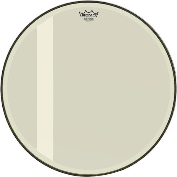 Stortrommeskinn Remo Powerstroke 3 P3-1022-00-FLT, Hazy, Felt Tone, 22