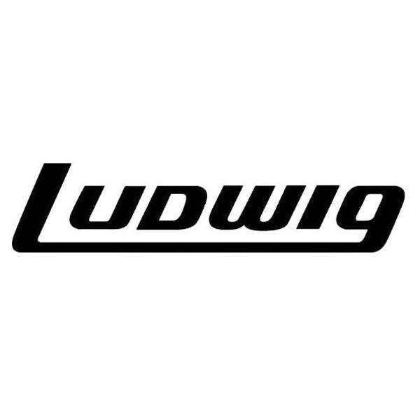 Logo Ludwig P4064, Large Black Ludwig Logo