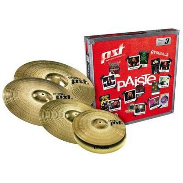 Cymbalpakke Paiste PST 3 Universal Sett 14-18-20 + 16