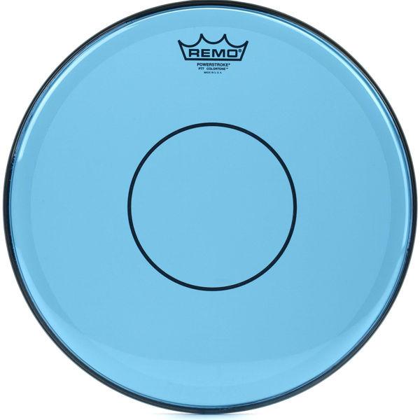 Trommeskinn Remo Powerstroke 77 Colortone P7-0313-CT-BU, Blue 13