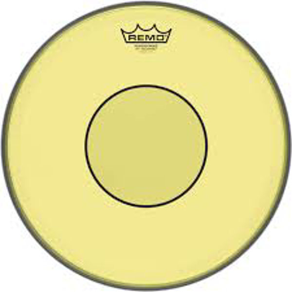 Trommeskinn Remo Powerstroke 77 Colortone P7-0313-CT-YE, Yellow 13