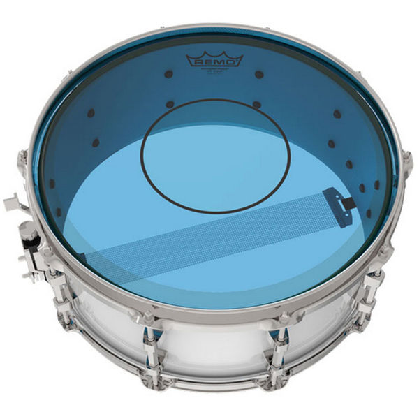 Trommeskinn Remo Powerstroke 77 Colortone P7-0314-CT-BU, Blue 14