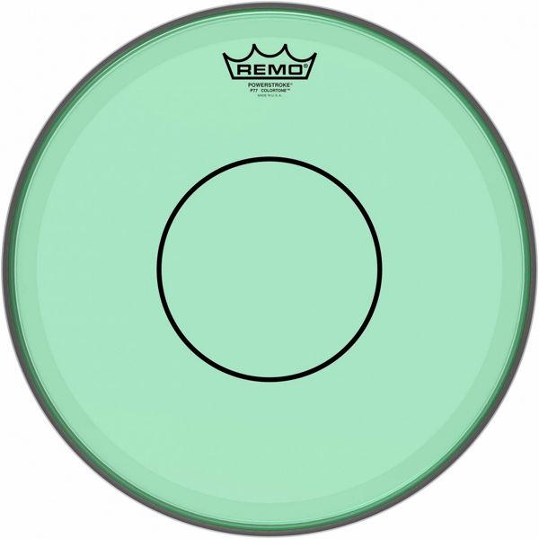 Trommeskinn Remo Powerstroke 77 Colortone P7-0314-CT-GN, Green 14