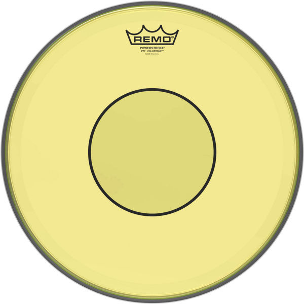 Trommeskinn Remo Powerstroke 77 Colortone P7-0314-CT-YE, Yellow 14