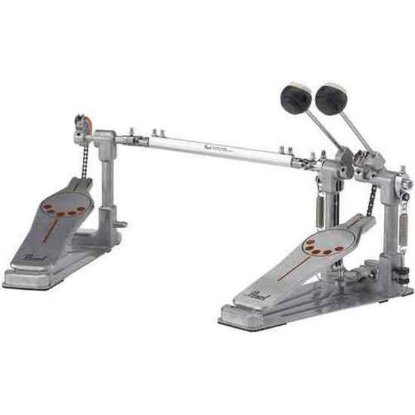 Stortrommepedal Pearl P-932, Demonator Bass Drum Twin Pedal w/Interchangeable Cam
