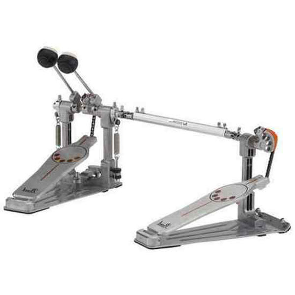 Stortrommepedal Pearl P-932L, Demonator Bass Drum Twin Pedal Left w/Interchangeable Cam