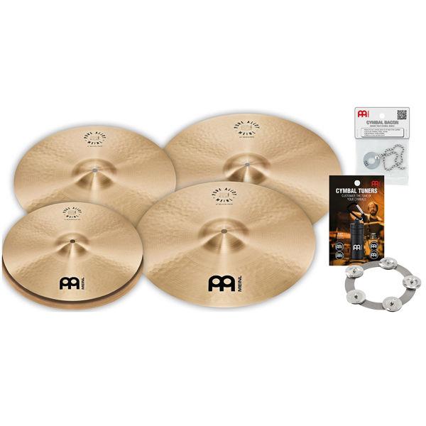 Cymbalpakke Meinl Pure Alloy, Medium 15-18-20-22
