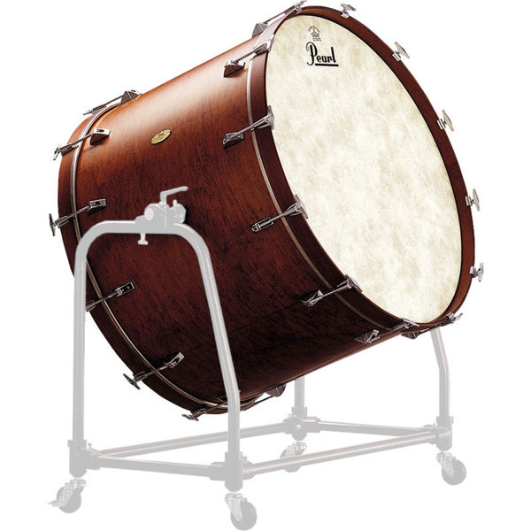 Konsertstortromme Pearl Symphonic PBM3626, Maple, 36x26 u/Stativ