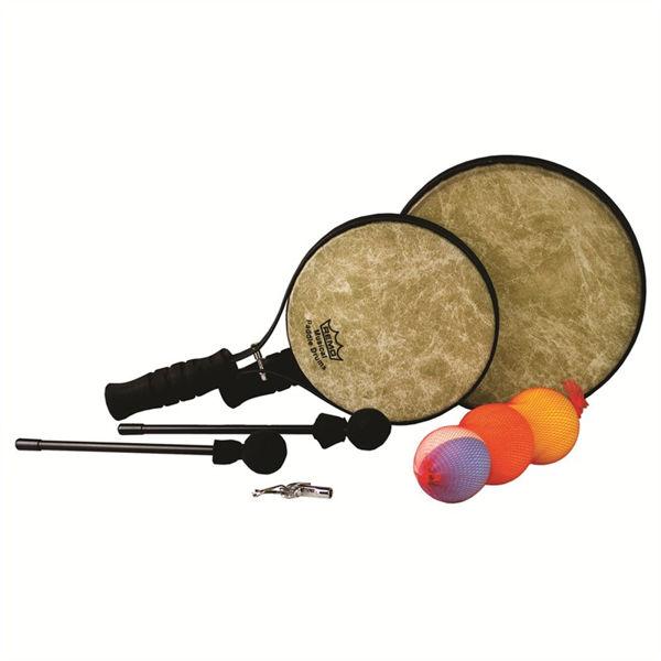 Håndtrommer Paddle Drum Set Remo PD-1214-00-SD099, 1 par m/12-14 Skyndeep