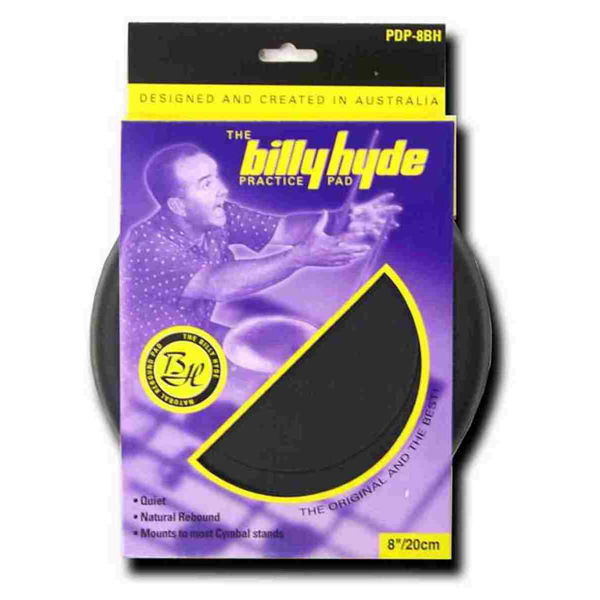 Trommepad Billy Hyde PDP-12BH, 12 Rubber Pad, 6 mm