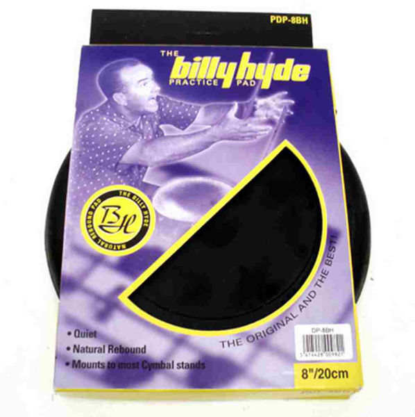 Trommepad Billy Hyde PDP-08H, 8 Rubber Pad, 6 mm
