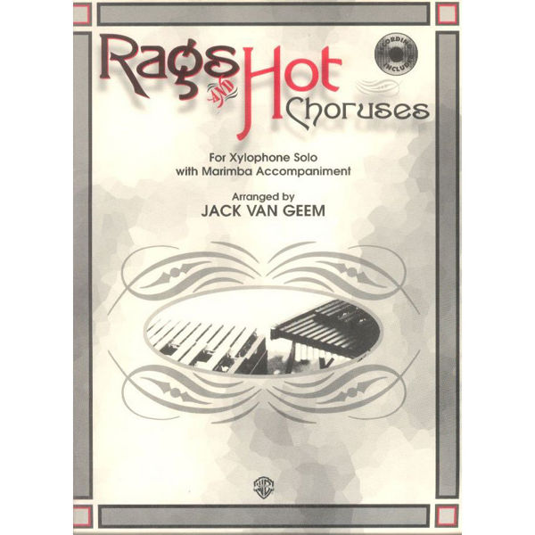 Rags And Hot Choruses For Xylophone,  J.V. Geem