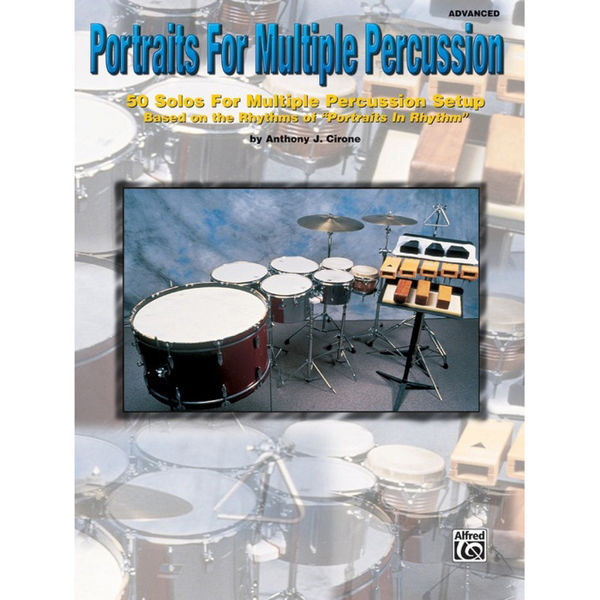 Portraits For Multiple Percussion, Anthony Cirone