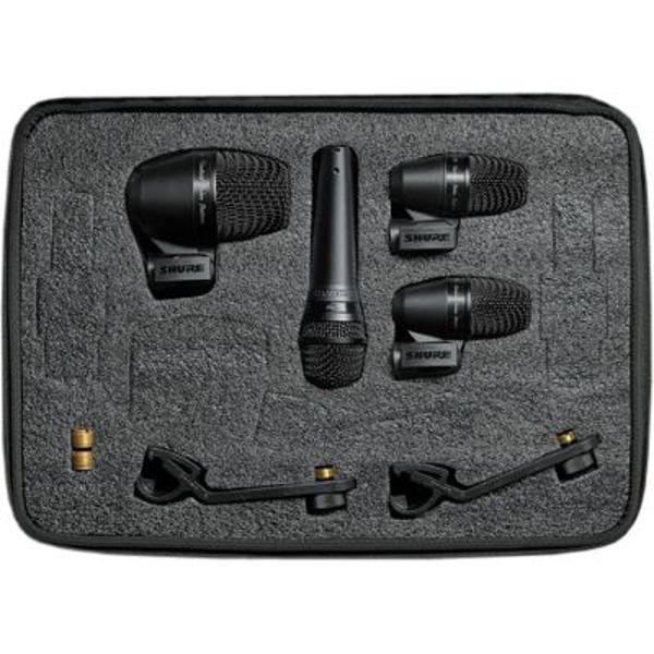 Mikrofonsett Shure PGADRUMKIT4 Til Trommer
