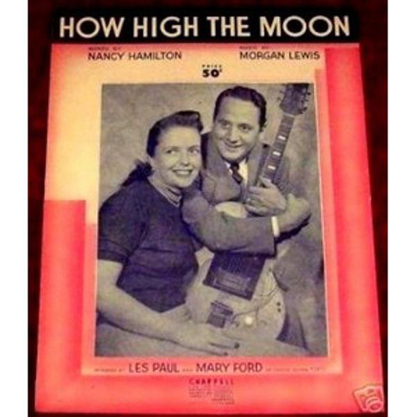 How High The Moon, Morgan Lewis & Nancy Hamilton arr Jerry Sheppard. Big Band Vocal