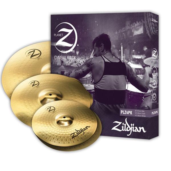 Cymbalpakke Zildjian Planet Z PLZ4PK, 14-16-20