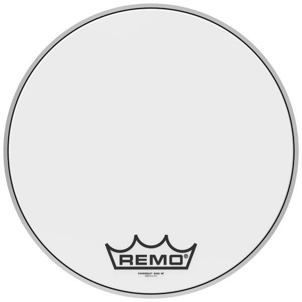 Stortrommeskinn Remo Powermax PM-1024-MP, Ultra White 24