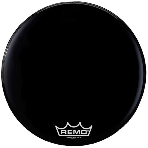 Stortrommeskinn Remo Powermax PM-1418-MP, Ebony 18