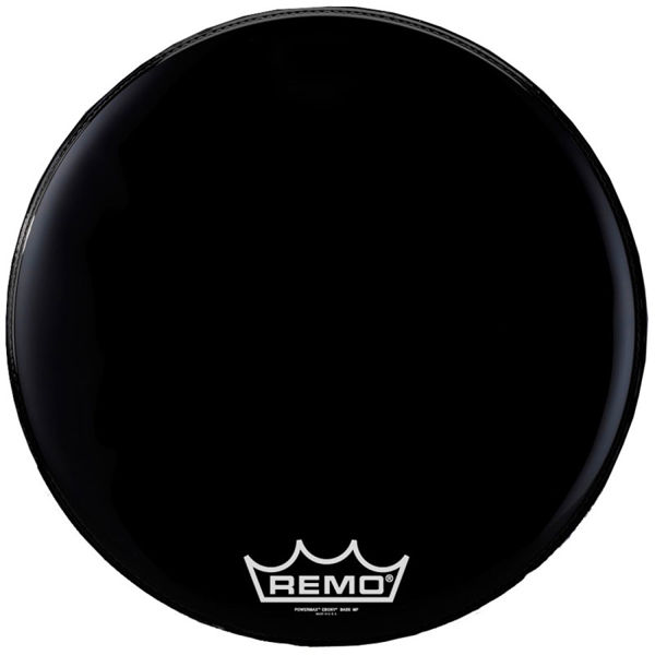 Stortrommeskinn Remo Powermax PM-1426-MP, Ebony 26